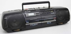 Panasonic RX-FT600 - Dual Deck Cassette Player Recorder Am Fm Stereo XBS Boom Box