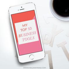 Running a business is hard work. And doing it while juggling a thousand other obligations is no easy feat. I totally get it. That's why I wanted to share my 10 favorite business tools - because any...