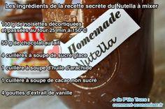Nous nous sommes procurés la recette secrète du Nutella que vous allez désormais pouvoir faire maison.  Découvrez l'astuce ici : http://www.comment-economiser.fr/recette-secrete-nutella-ingredients.html?utm_content=buffer878bd&utm_medium=social&utm_source=pinterest.com&utm_campaign=buffer