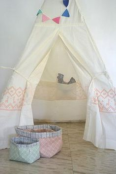Tipi Peach Rose Tent | Madie Moo