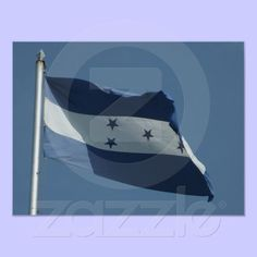 Flag of Honduras.