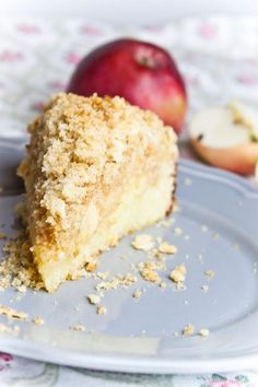 Jablečný koláč s tvarohem Krispie Treats, Rice Krispies, Vanilla Cake, Sweet Recipes, Crockpot, Cheesecake, Food And Drink, Apples, Blog