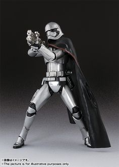 Captain Phasma 005 - SH Figuarts - Star Wars The Force Awakens °°