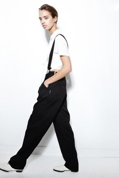 SHAINA MOTE, Ray Trouser | Trousers, Normcore, Suits, Black And White, Style, Fashion, Pants, Black White, Moda