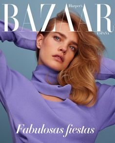 natalia vodianova by thomas whiteside for harper's bazaar spain december 2016 | visual optimism; fashion editorials, shows, campaigns & more!
