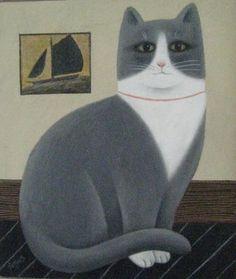 Cat art by Martin Leman