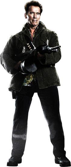 The Expendables 2 (2012) - Schwarzenegger