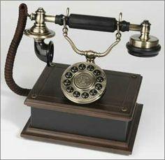 Antique Replica Telephone  $89.99  Available at www.bellarosadesigns.com