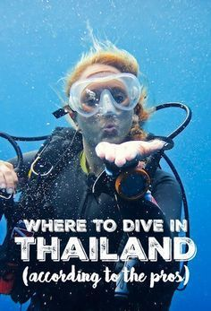 Spectacular Dive Sites You Have to See to Believe A list of the most memorable scuba experiences in Thailand, according to the divers that live and love there. Scuba Diving Thailand, Best Scuba Diving, Scuba Diving Gear, Cave Diving, Cozumel Diving, Thailand Travel Tips, Asia Travel, Visit Thailand, Bangkok