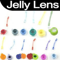 Colorful Special Jelly Lens 12 Fish Eye for Cellphone iPhone Digital LOMO Camera | eBay