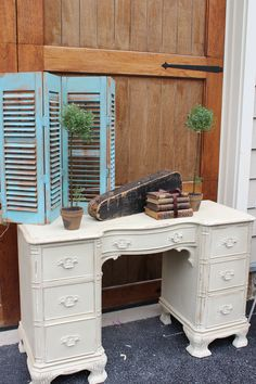 Refinished Antique Furniture & Interiors  www.blueeggbrownnest.com