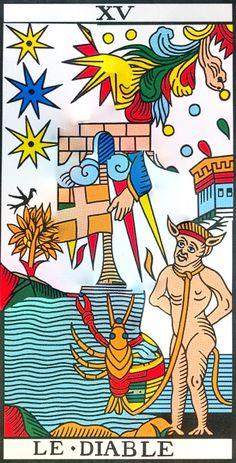Une fusion de cartes qui n'est pas aussi innocente qu'elle n'en a l'air.  Les cartes du tarot, vues par Vincent Beckers.  Plus de choses sérieuses, celles-là, sur le site de Vincent Beckers : www.cours-de-tarot.net