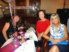 Gill's 60th birthday party, October 2014.