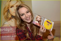 briget mendler new 2013 photos just jared | Bridgit Mendler celebrates her album launch from the Hollywood Records ...