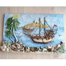 deniz temalı ahşap boyamalar ile ilgili görsel sonucu