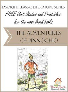 Incorporate classic literature into your homeschool lessons with these FREE Unit Studies and Printables for The Adventures of Pinnochio. Literature Books, Classic Literature, History Activities, Book Activities, Best Books To Read, Good Books, Bible Study For Kids, Irish Traditions, Reading Resources