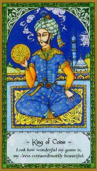 King of Pentacles, Rumi Tarot