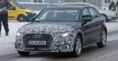 Spied: Audi's Facelifted A3 E-Tron Plug-In Hybrid #Audi #Audi_A3
