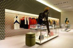 "Prada ""The Iconoclasts"" | By  Edward Enninful | Montenapoleone, Milan, 2014"