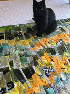 The quilt addicted cat is not available.... but you could create such personal quilt design in a workshop at MISA Wisconsin with Ursula Kern