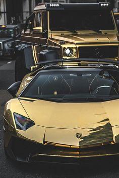 #Gold Squad #Lambo #Merc 6×6 #AMG
