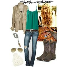 Love. Nice fall outfit