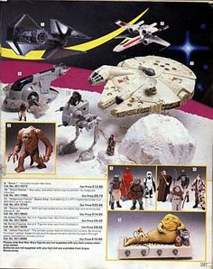 Vintage Kenner Star Wars advert from Argos catalogue 1984 Star Wars Toys, Star Wars Art, Retro Toys, Vintage Toys, Childhood Toys, Childhood Memories, Toy Catalogs, Old School Toys, Star Wars Merchandise