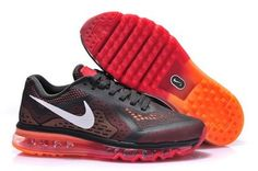 los angeles 45887 bf3b1 Discover the Nike Air Max 2014 Running Shoes Mesh Black Red Orange Top  Deals group at Pumacreeper. Shop Nike Air Max 2014 Running Shoes Mesh Black  Red ...