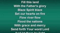 Shine Jesus Shine (worship video w/ lyrics), via YouTube.