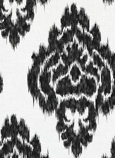 fabric for kitchen shades Ikat Fabric, Red Fabric, Drapery Fabric, Pauls Valley, Kitchen Shades, Fabric Roman Shades, Glue Painting, Black And White Fabric, Cute Diys