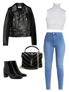 """""""Untitled #1"""" by aimeetorres28 on Polyvore featuring Yves Saint Laurent"""