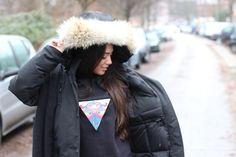 Mit Feralstuff Sweater wird einem doch gleich warm ums Herz #heart #warm #look #Fashion #Blogger #streetstyle #Hamburg #Inspiration #snapshot