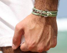 Cal Brown Men's Bracelet Men Infinity Bracelet by Galismens