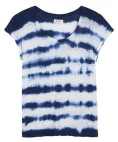 T-shirt - €90 - MiH Jeans komt met een unieke shibori collectie - Nieuws - Fashion