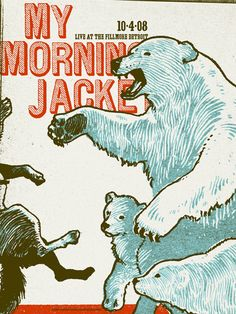 My Morning Jacket (Detroit) by Ryan Nole