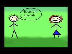Bonjour - se présenter en français - YouTube French Teacher, Teaching French, Communication Orale, French Greetings, Learn French Beginner, Core French, Create Animated Gif, French Classroom, French Language