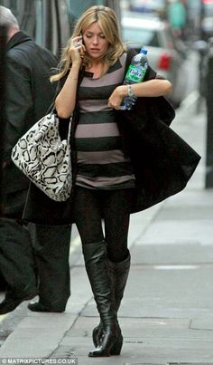 Abbey Crouch, another model pregnancy.  Like Baby Bump Chic on facebook:  https://www.facebook.com/BabyBumpChic