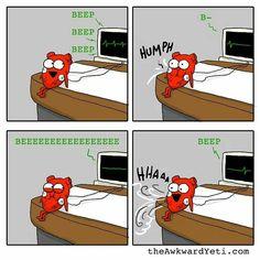The Awkward Yeti comics. So funny The Awkward Yeti comics http://theawkwardyeti.com