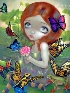 Daydreams and Frogs fairy art by Jasmine Becket-Griffith...one of my favs!