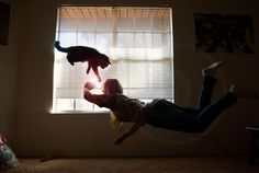 Cats and levitation by Amber Miller
