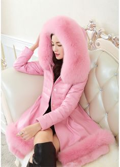 2015-Fashion-Winter-Parka-Women-Rabbit-Fur-Coat-Fox-Fur-Collar-Medium-long-Hooded-Fur-Coat