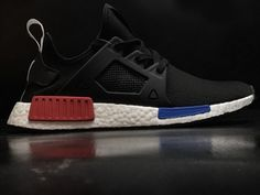 5fb16f405 High Quality Men Adidas Originals NMD XR1 PK Black Blue Red BY1909 For Sale