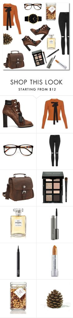 """""""Bow tie"""" by constance1998 ❤ liked on Polyvore featuring Tod's, Rochas, ZeroUV, Topshop, Vagabond Traveler, Bobbi Brown Cosmetics, Chanel, MAC Cosmetics, NARS Cosmetics and R.H. Macy & Co."""