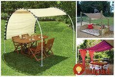 Perfektné nápady, ako si v záhrade poistiť tieň a príjemné sedenie na slnečné letné dni. Inšpirujte sa a určite sa môžete tešiť, táto sezóna bude stáť za to! PVC rúrky