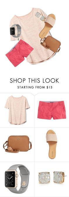 """""""Just for me!"""" by megan-millard ❤ liked on Polyvore featuring Gap, J.Crew, Tory Burch, Hinge and Kate Spade"""