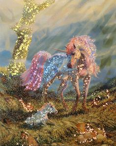 The perfect Sparkles Unicorn Fabulous Animated GIF for your conversation. Discover and Share the best GIFs on Tenor. Unicorn And Fairies, Unicorn Fantasy, Unicorn Horse, Unicorn Art, Fantasy Art, Beautiful Unicorn, Beautiful Horses, Animals Beautiful, Cute Fantasy Creatures