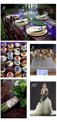 Inspirationsboard Harry Potter Hochzeit « im Hochzeitsfieber