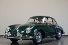 1956 Porsche 356A Coupe - Lago Green