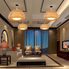 Bamboo Pendant Light Pendant Rattan Pendant Light HQ Bamboo | Etsy Bamboo Pendant Light, Bamboo Light, Bamboo Lamp, Rustic Pendant Lighting, Pendant Lights, Ceiling Pendant, Ceiling Lights, Basket Lighting, Loft