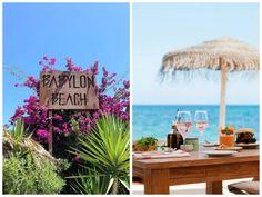 Babylon Beach Bar, Sa Caleta, 20 | Can Sanso, 07840 Santa Eulalia del Rio, Ibiza